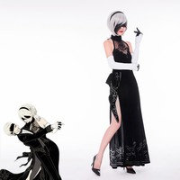 NieR: Automata 2B sexy night dress cosplay SD02496