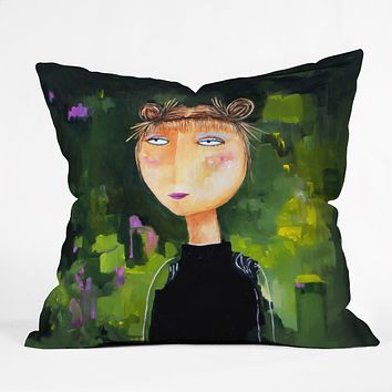 Robin Faye Gates Aleta Throw Pillow