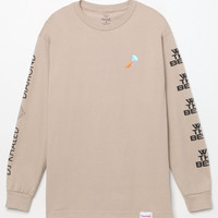 Diamond Supply Co x DJ Khaled Diamond Key Emoji Long Sleeve T-Shirt at PacSun.com