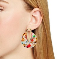 AQUA Multicolor Marled Drop Earrings - 100% Exclusive EDITORIAL - Women's New Arrivals - Jewelry & Accessories - Bloomingdale's