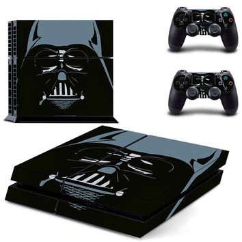 Darth vader Star wars design skin for ps4 decal sticker console & controllers