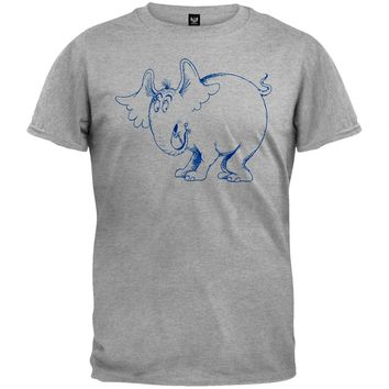 Dr. Seuss - Horton Outline Soft T-Shirt