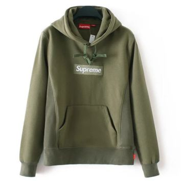Fashion hot Supreme thickness pullover hoodie sweater