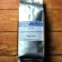 El Salvador Fresh Roasted Arabica Coffee Beans Direct Trade 1lb Bag Brew Cruise Coffee