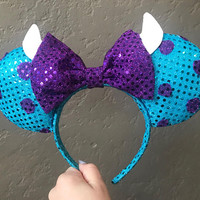 Monster Inc Minnie Mouse Ears