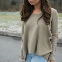 Long Walk Home Sweater - Taupe