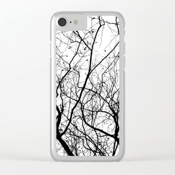 Branches Clear iPhone Case by ARTbyJWP