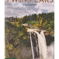 Twin Peaks' Great Northern Hotel Travel Poster 13x19