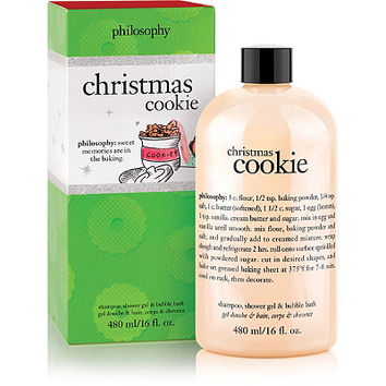 Christmas Cookie Shower Gel