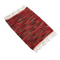 Summer Stripe Rag Rug