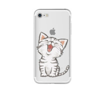 Kitty Cat Phone Case For iPhone 7 7Plus 6 6s Plus 5 5s SE