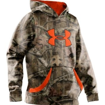Under Armour Youth Camo Big Logo Hoodie