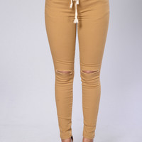 Cadet Pants - Wheat