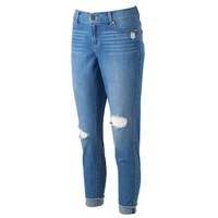 Women's Juicy Couture Flaunt It Ripped Skinny Ankle Jeans | null