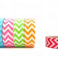 Washi Tape Set: Candy Chevron