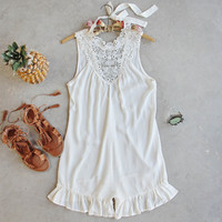 The Dean Ruffle Romper