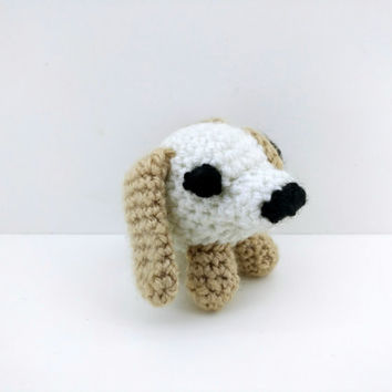 Dog, amigurumi, crochet doll, handmade, animal