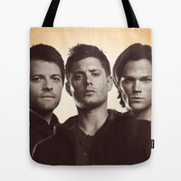 SUPERNATURAL Tote Bag by Hands in the Sky