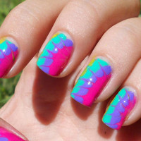 HOW TO: Create Totally Tie Dye Nails for Summer 2012  | Swagger New York