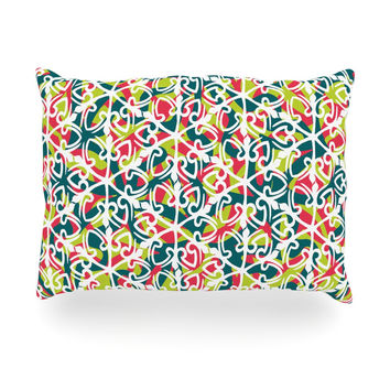 "Miranda Mol ""Cool Yule"" Oblong Pillow"