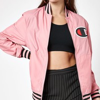 Champion Satin Bomber Jacket at PacSun.com
