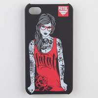 Fatal Hipster Iphone 4/4S Case Black One Size For Men 22312710001