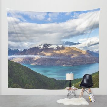 Viewtiful Wall Tapestry by Mixed Imagery