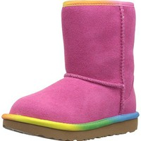 UGG Kids T Classic Short II Rainbow Pull-on Boot