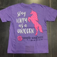 """*Closeout* Simply Southern """" Happy Unicorn"""" Limited Edition"""