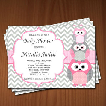 photo about Free Printable Owl Baby Shower Invitations called Great Kid Shower Invite Pdf Goods upon Wanelo