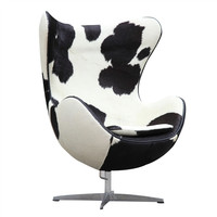Cowhide Egg Chair
