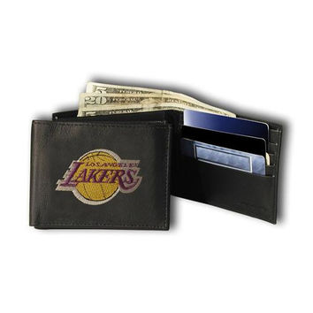 Los Angeles Lakers NBA Embroidered Billfold Wallet