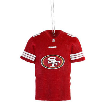 SAN FRANCISCO 49ERS OFFICIAL NFL RESIN JERSEY ORNAMENT