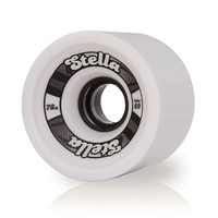 Longboard Wheels Stella 69mm - White - Set of 4