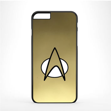 Gold Star Trek Logo Art Iphone 6 Plus | 6s Plus Case