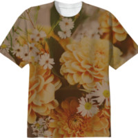 Autumn Floral created by Leah Flores | Print All Over Me