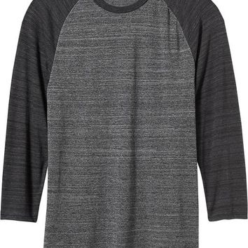 Old Navy Mens Space Dye Baseball Tees