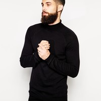ASOS Roll Neck Jumper in Cashmere Blend at asos.com