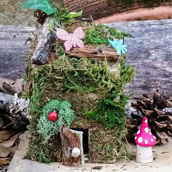 DIY Fairy House Kit, Fairy Garden Kit, Fairy Garden Accessories, Fairy Kit, Miniature Garden Supplies, Terrarium Kit, Miniature Garden Items