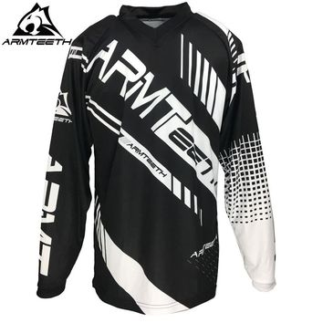 2017 Armteeth New Arrival Motorcycle Long Sleeve Racing Shirt Dirt Bike Cycling Jersey DH MX Motocross Jerseys