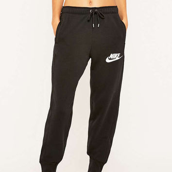 Nike Rally Black Joggers - Urban Outfitters