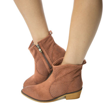 Kick the Dust Up- Copper Bootie