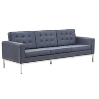 Button Sofa in Wool - Comes in 3 colors