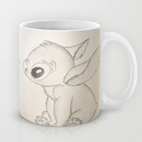 Lilo and Stitch Mug by Elyse Notarianni