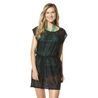Merona® Women's Crochet Coverup Dress -Black