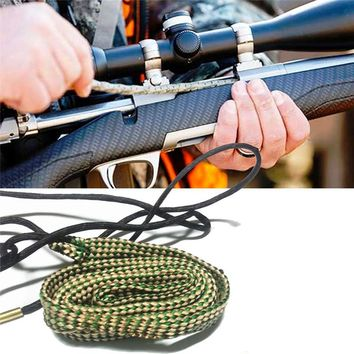 Bore Cleaning .30 Cal .308 .300 .303 & 7.62mm Rifle Gun Cleaner Kit Hunting Gun Accessories Cleaning Rope