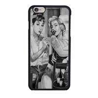 audrey hepburn and marilyn monroe sexy case for iphone 6 6s
