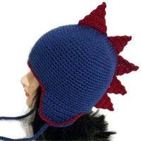 Dinosaur Hat with ear flaps