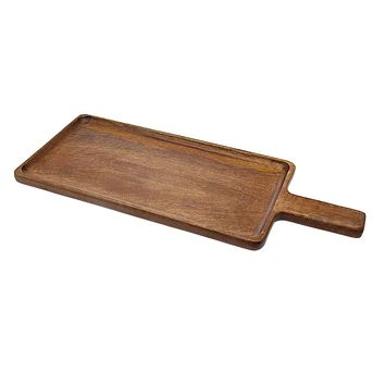 Wood Paddle Serving Tray