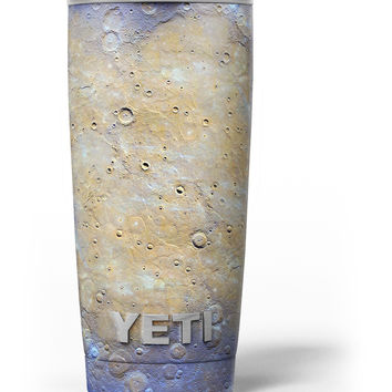 Grungy Watercolor Boiling Surface Yeti Rambler Skin Kit